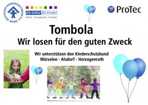 Tombola Kinderschutzbund Fa. Protec
